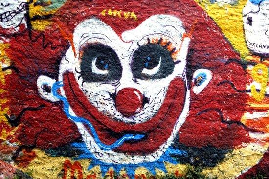 graffitti 9 the famous joker picture of batman alley sao paulo