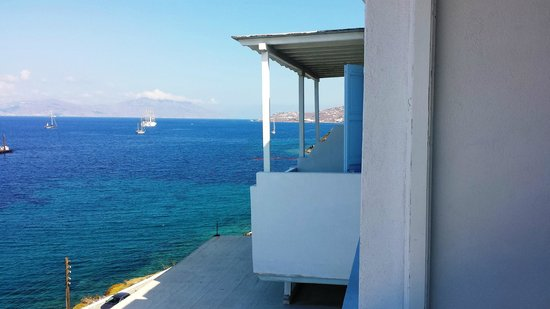 Vana Holidays Hotel: Il Panorama verso Hora (centro di Mykonos)