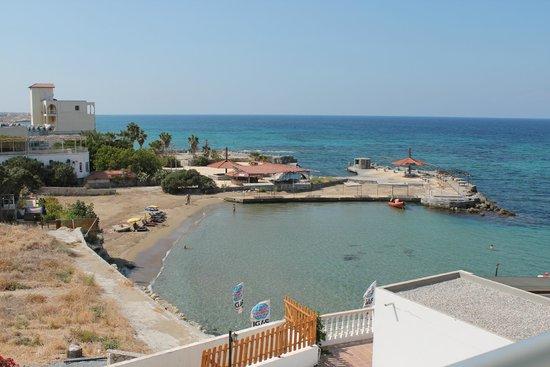 Manolya Hotel: Room 210 view