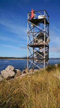 Jessie M. Honeyman Memorial State Park: Cool Modern Lighthouse