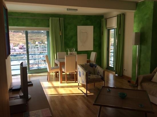 Marina de Albufeira Apartments: Our Living Room
