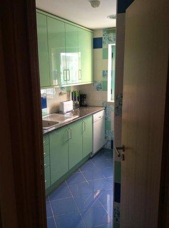 Marina de Albufeira Apartments: Our Kitchen