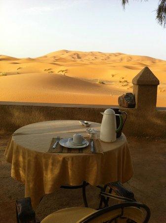 Yasmina Hotel Merzouga: Step onto the dunes from the terrace