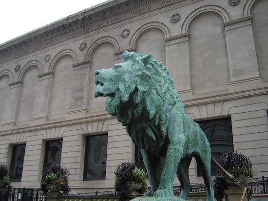 Vue De La Facade Principale Le Soir Picture Of The Art Institute Of Chicago