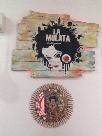 La Mulata: Decoração