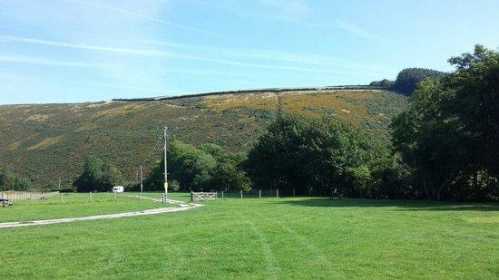 Doone Valley Campsite: Empty in September.