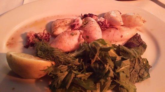Belthazar Restaurant and Wine Bar: Baby Squid