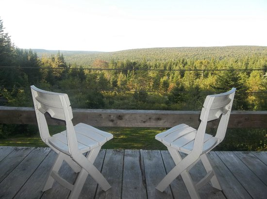 Big Hill Retreat : view from chalet loft