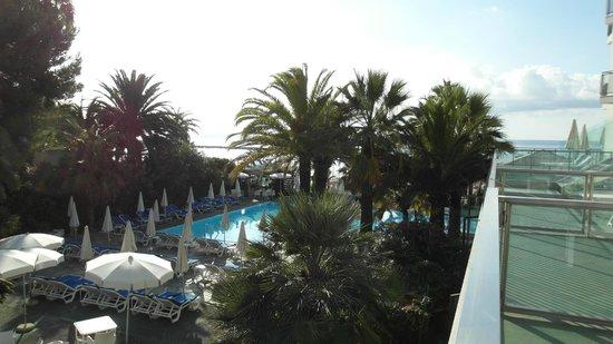 Hotel Caravelle Talasso e Benessere: vista dal mio terrazzo