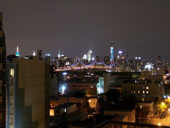 Hotel Vetiver: View from room 904 (highest floor, street side)
