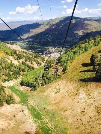 Silver Queen Gondola: Riding Down to Aspen