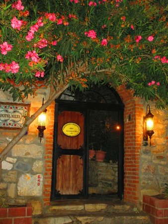 Hotel Nilya : Front Gate