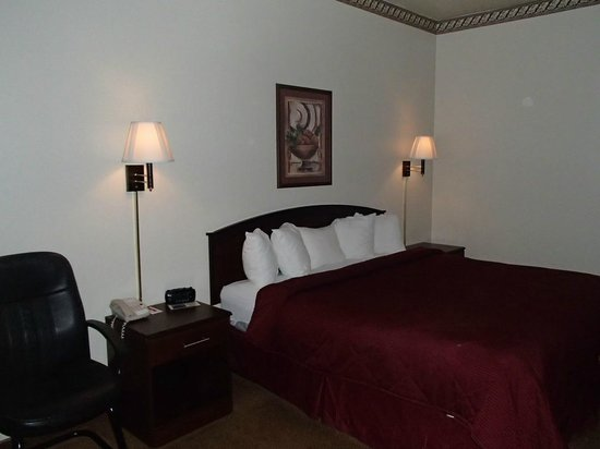 U.S. Travelers Inn & Suites: room