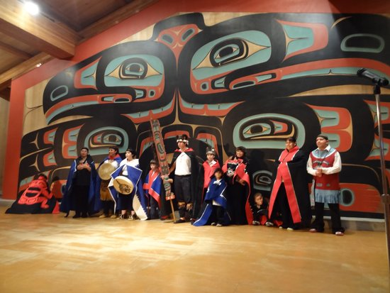 Sitka Tribe Dance Performances: The dancers