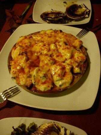 Pulpo con queso fotograf a de taperia adrede o grove - Restaurante adrede ...