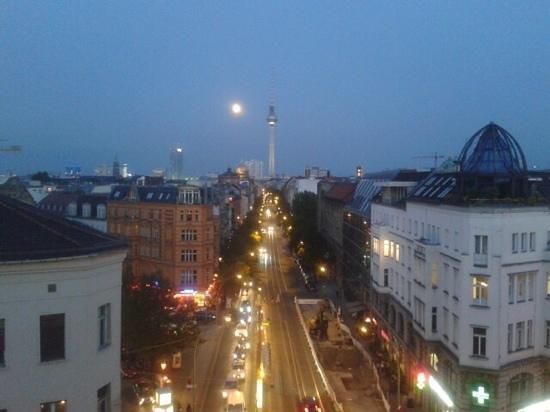 TopDomizil Apartments Panorama Friedrichstrasse: vistas desde el balcon