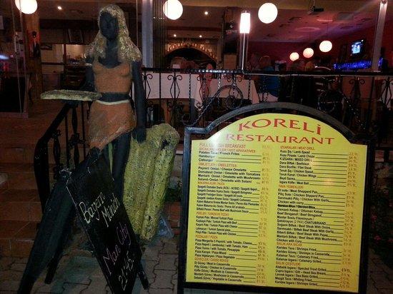 Koreli Restaurant : Koreli