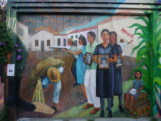 Balmy Alley Murals: Each mural tells a different story.