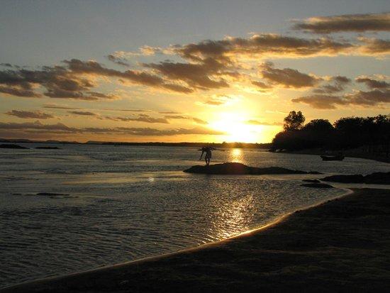 Ilha do Rodeador: Por do sol
