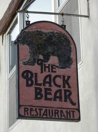 Indian Lodge : Black Bear restaurant