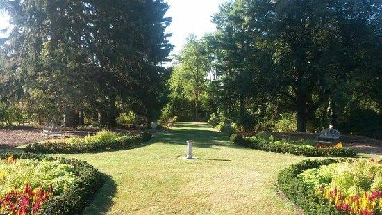 The Castle at Skylands Manor: backyard