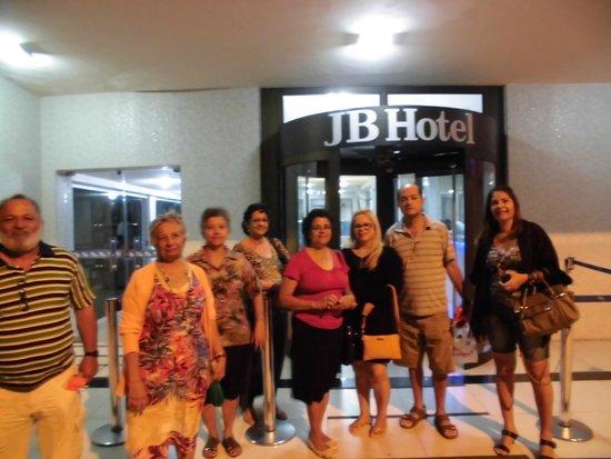 JB Hotel: Entrada do Hotel