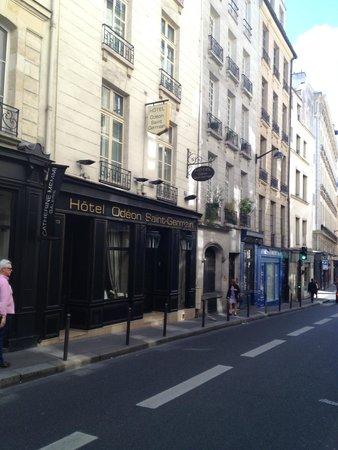 Hotel Odeon Saint-Germain: Street View
