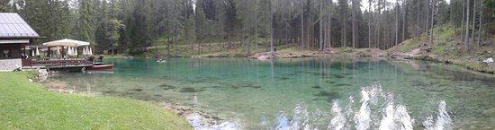 Lago Ghedina : Foto panoramica del lago