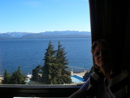 Sunset Hotel San Carlos Bariloche: Desde el restaurante.