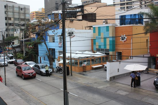 San Agustin Exclusive : Street view from our room