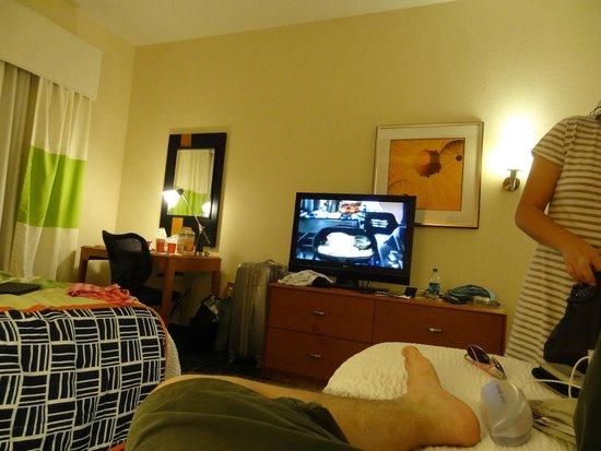 Fairfield Inn & Suites Miami Airport South: quarto bacana