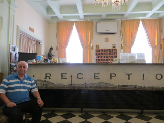 Nevsky Hotel Grand: THE RECEPTION