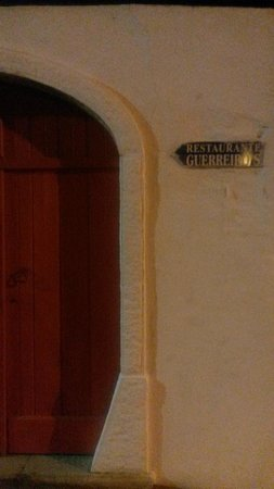 Restaurante Guerreiros : On the way to Guerreiro's, 6 minutes walking distance from town centre