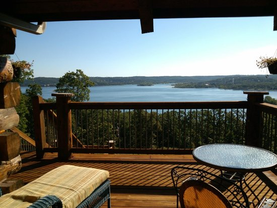 White River Lodge : View from our deck