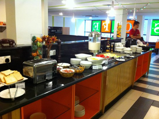 Citrus Hotel Johor Bahru: Restaurant