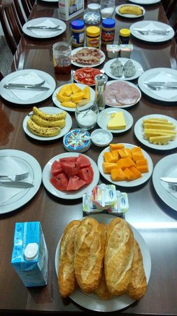 Thien An Hotel : Warmest and great breakfast provide by them. Oh before I forget, its buffet style with great tas