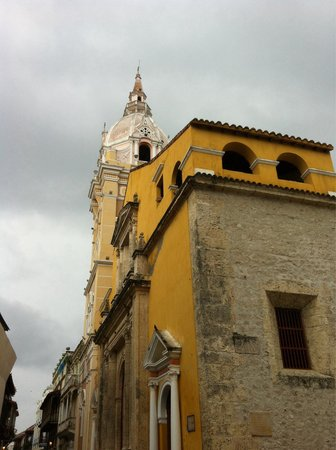St. Catherine of Alexandria Cathedral: Side view