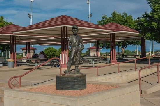 Grand Junction, CO: Picnic Shelters by Ball Fields