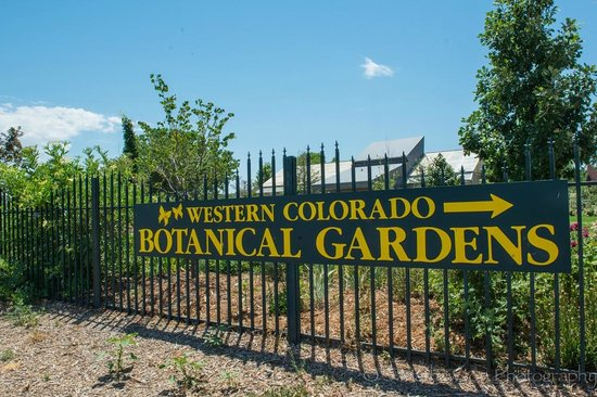 Entrance From Street Picture Of Western Colorado Botanical Gardens Grand Junction Tripadvisor
