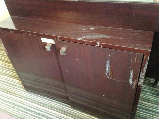 "The Westin Paris - Vendome: This is the condition of the furniture in our ""suite"" upgrade at the Paris Westin"