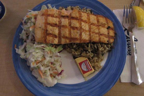 Ivar's Mukilteo Landing: Salmon Platter