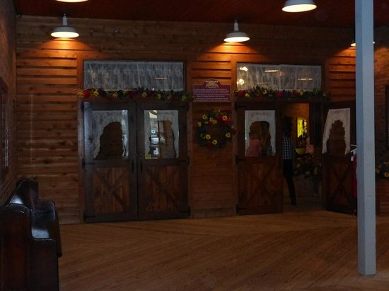 Entering Dixie Belle Saloon At Dixie Stampede Picture Of