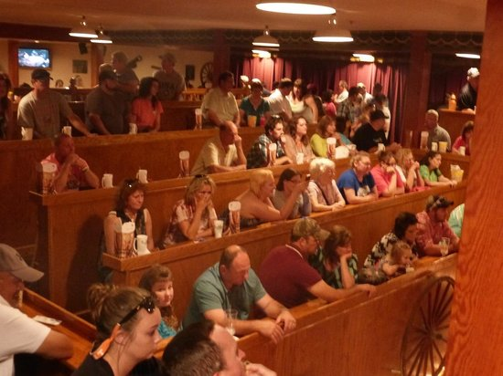 1st Floor Preshow Seating At Dixie Stampede Picture Of