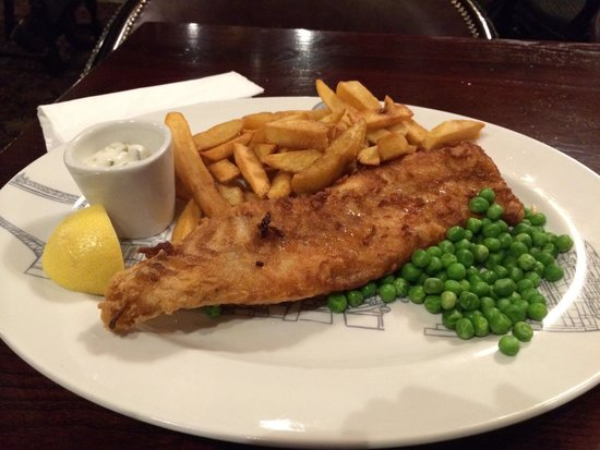 The Grenadier: Fish and chips