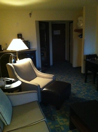 Holiday Inn Express Hotel & Suites Branson 76 Central : Living space in 4th floor suite