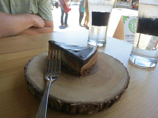 Power House Living Foods Co. : Raw Nanaimo Bar Cheesecake- heavenly!