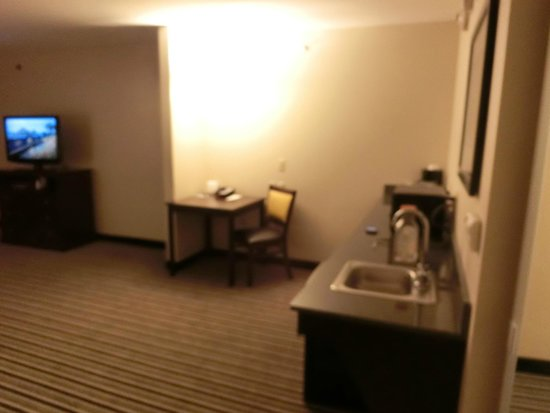 Holiday Inn Express Hotel & Suites Batavia - Darien Lake: In room sink area