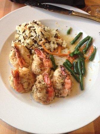 Bistro Henry: crqb stuffed shrimp