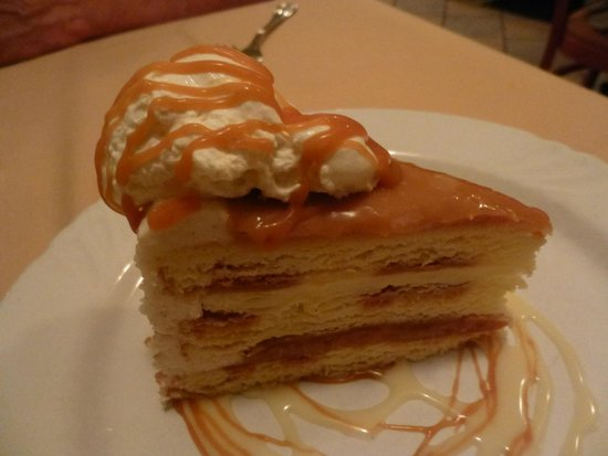 Portabello's of Kennett Square: salted caramel vanilla cake