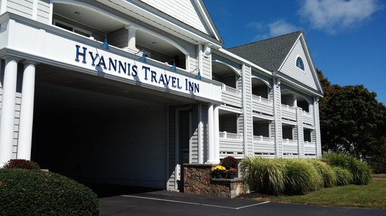 front of Hyannis Travel Inn